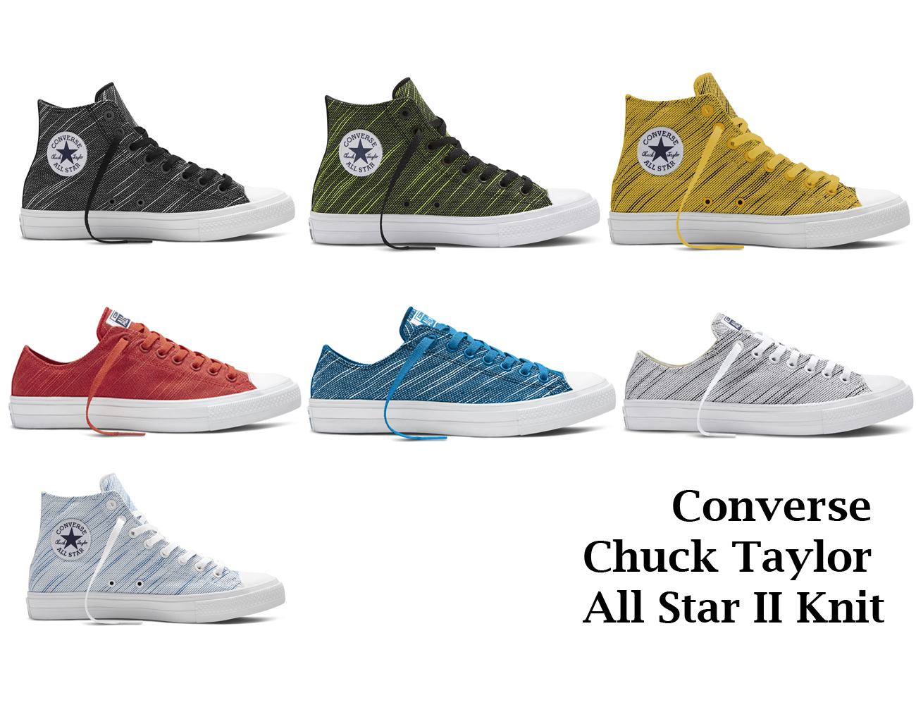 The new Converse Chuck Taylor All Star II Knit collection provides maximum  style while still delivering on superior comfort. c1cec3746