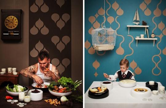 Spotlight znak tears off wallpaper - Tear off wallpaper by znak ...