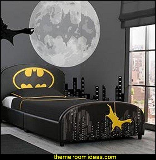 batman  Children Upholstered Twin Bed, DC Comics Batman