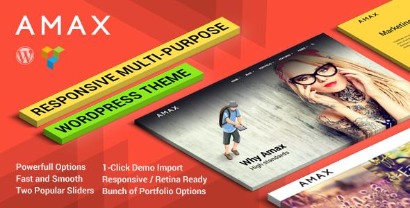 Amax WordPress Theme Download