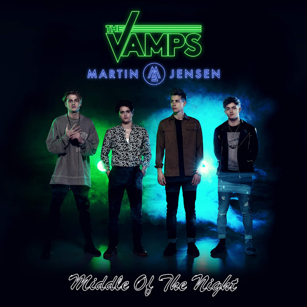 The Vamps & Martin Jensen - Middle of the Night - Single Cover