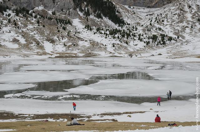 Lago Glaciar Huesca ruta pirineos