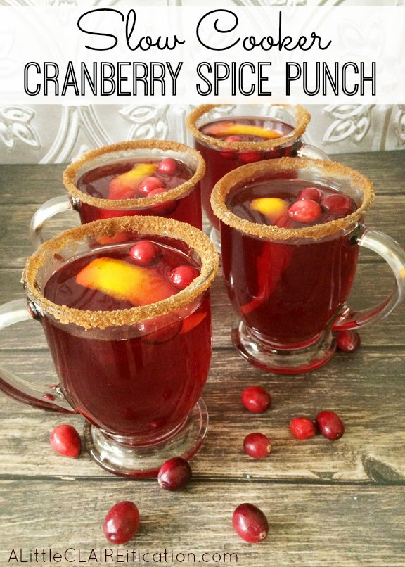 Crockpot Cranberry Punch