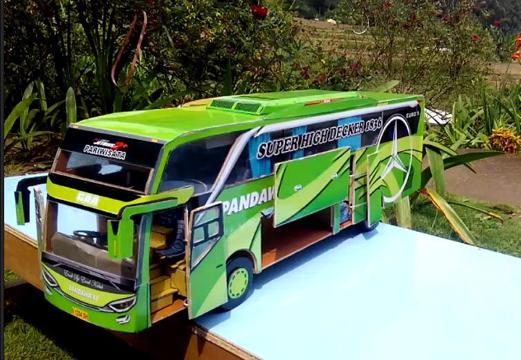 Mengapa miniatur bus Mahal? | DESIGN PAPERCRAFT BUS