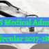 Medical MBBS Admission Circular Notice 2017-2018