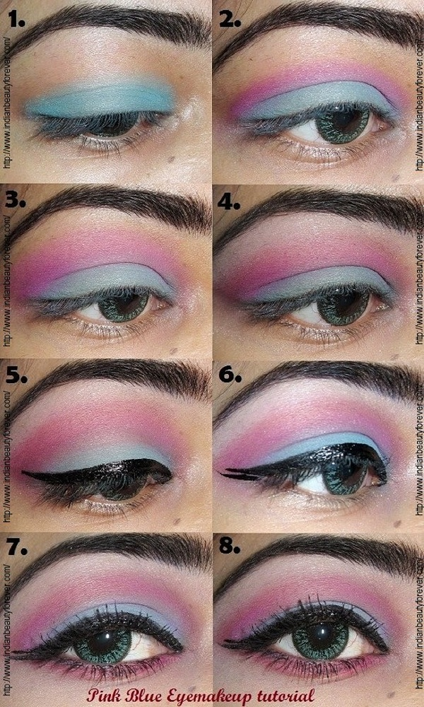 indian eye makeup step by step tutorial