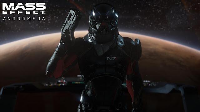 Otro de los personajes del videojuego de exploración espacial Mass Effect Andromeda