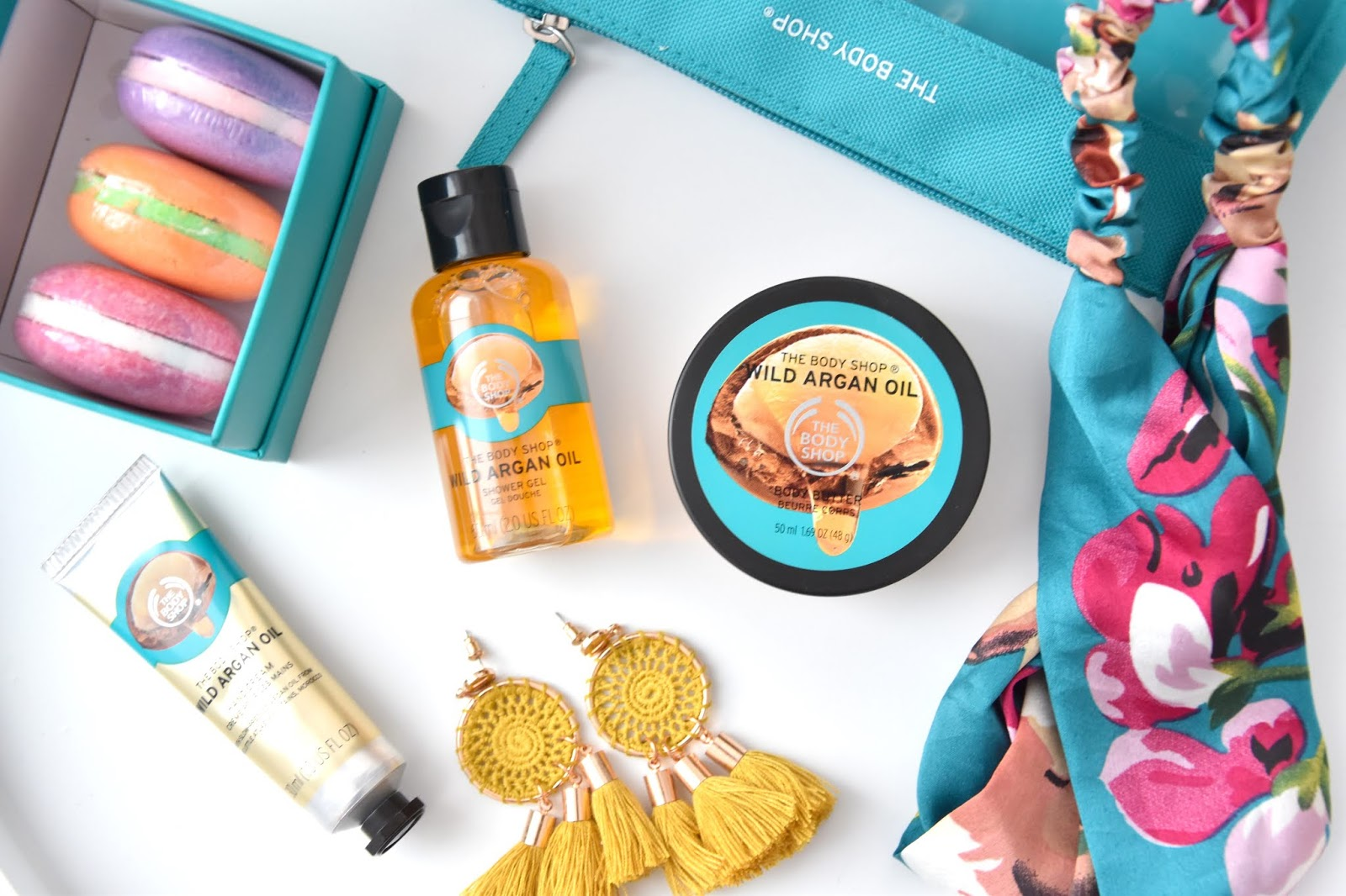 the body shop argan oil sada