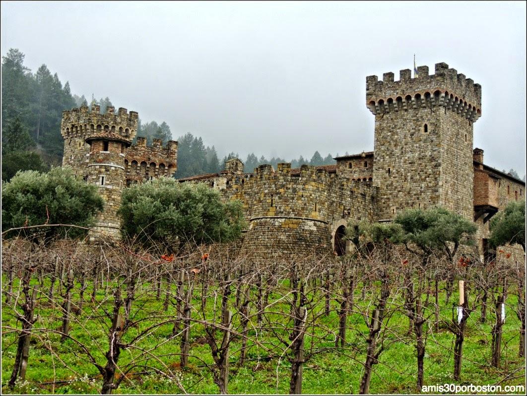 Ruta por las Bodegas del Valle de Napa: Torres Defensivas del Castello di Amorosa