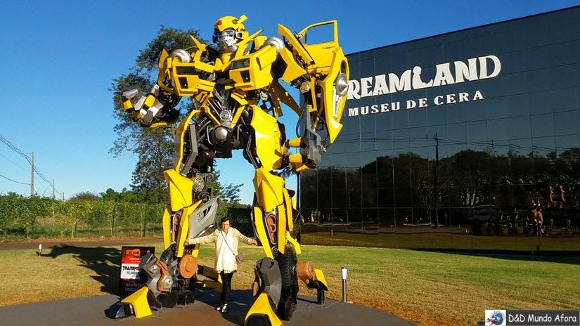 Museu de Cera de Foz do Iguaçu (Paraná): visita ao Dreamland