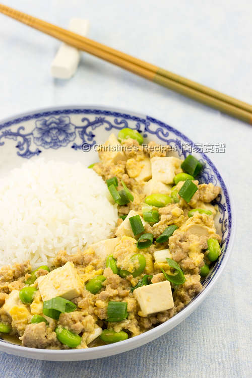 豆腐豬肉碎滑蛋飯 Pork Mince Tofu and Egg Rice03