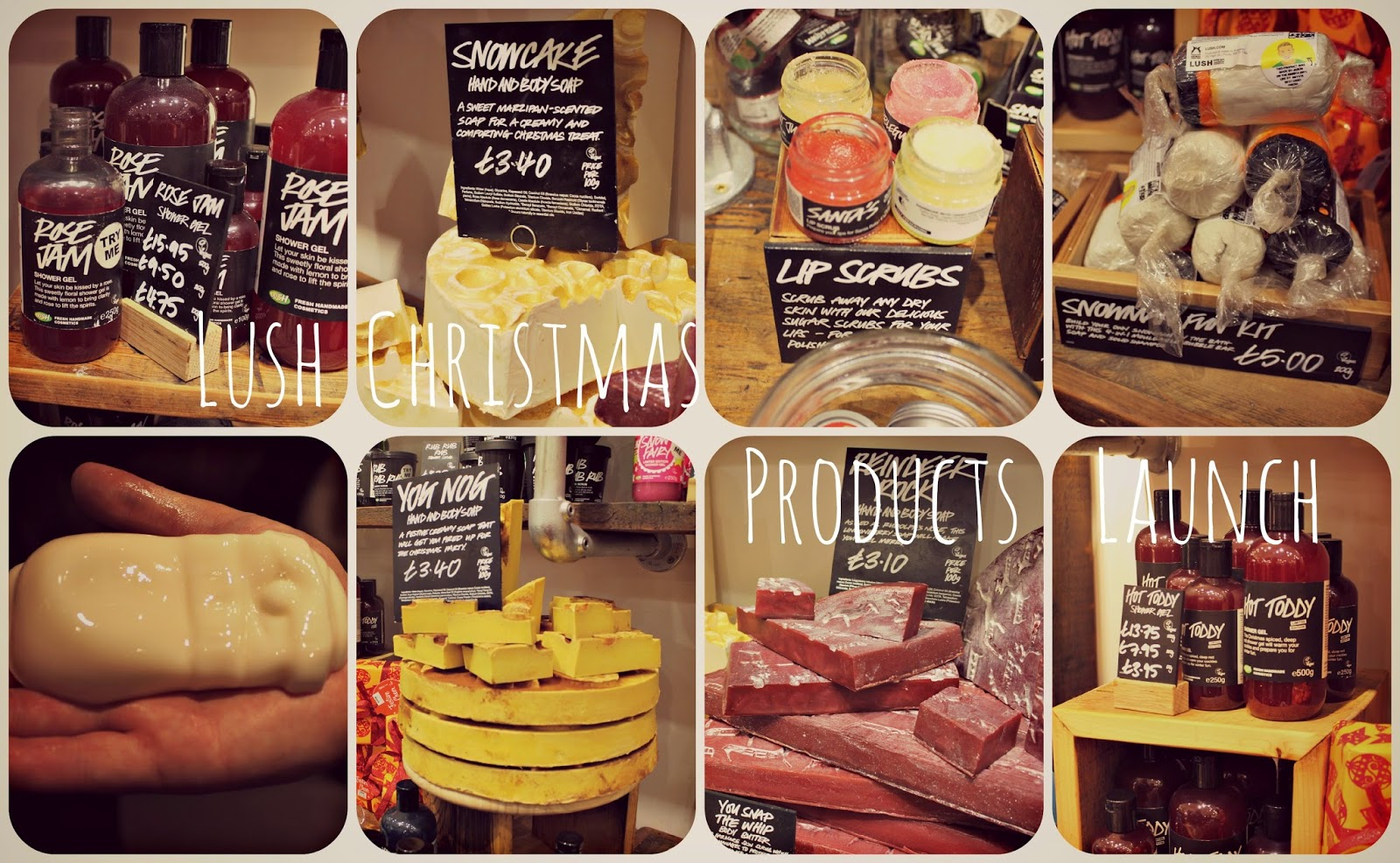 #LushChristmas Launch at Lush Spa Leeds