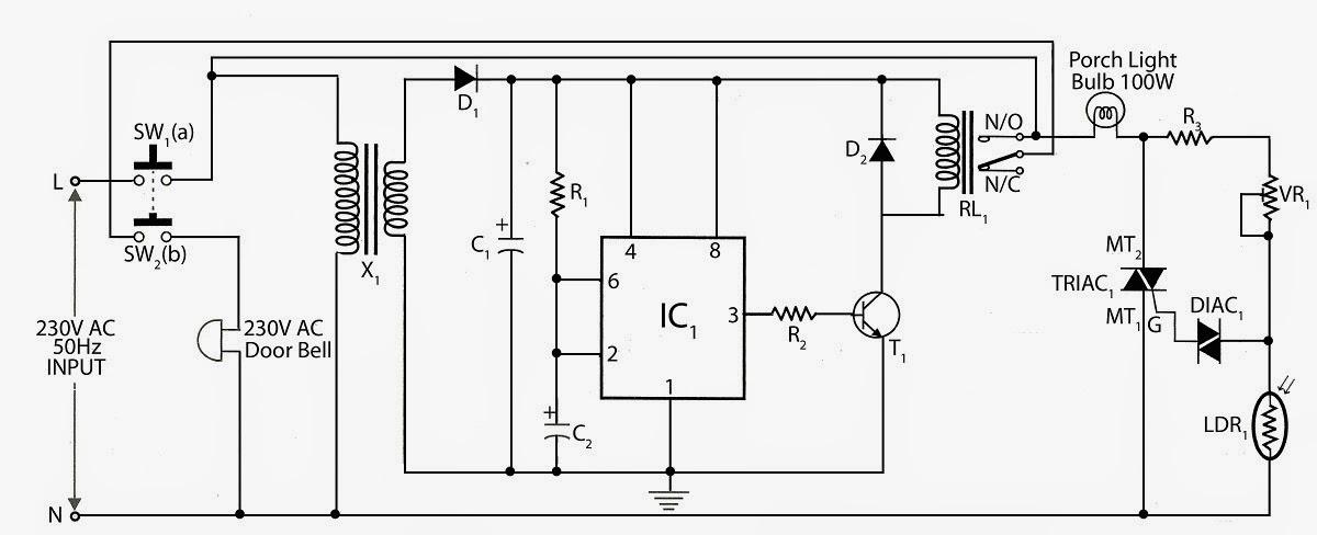 Friedland Door Bell Circuit Diagram  Somurich