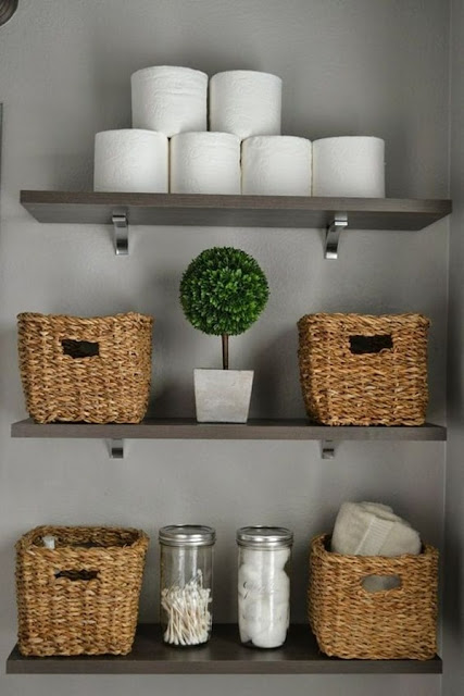Storage Ideas for Bathrooms 11