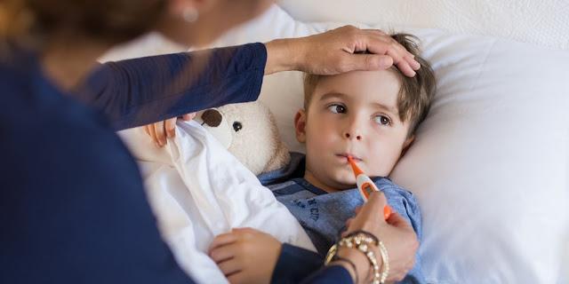 التهاب الحلق الموسمي عند الاطفال