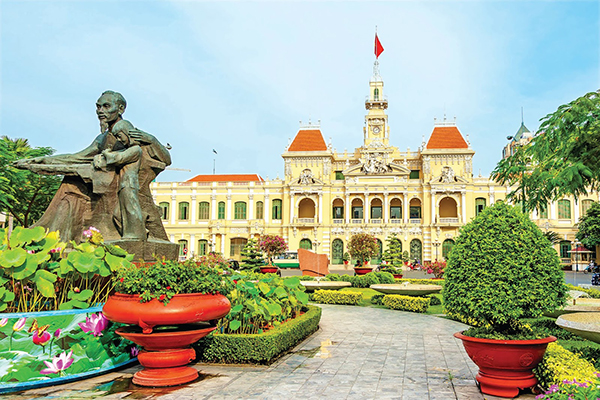 The City Hall Ho Chi Minh City