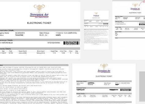 Cara Cetak Tiket Pesawat Sriwijaya Air Online