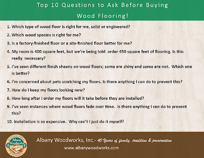 10 Questions to Ask Before Buying Wood Flooring