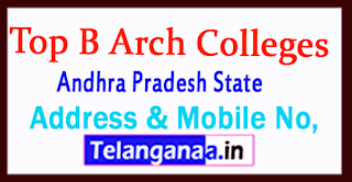 Top B Arch Colleges in Andhra Pradesh