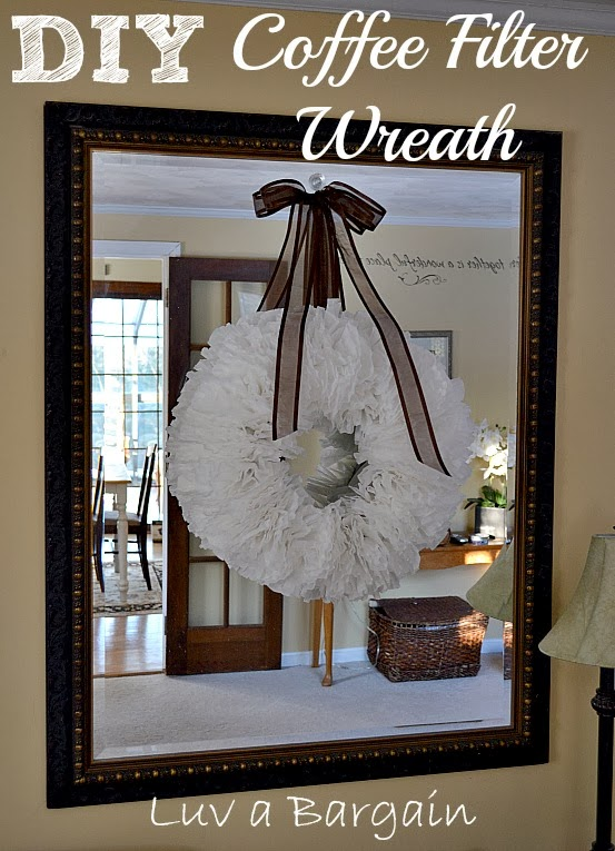 http://www.luvabargain.com/diy-coffee-filter-wreath.html