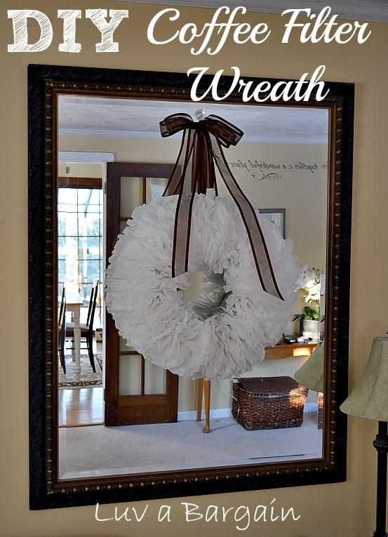 http://www.luvabargain.com/diy-coffee-filter-wreath.html