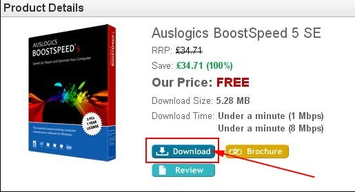 auslogics boostspeed serial code