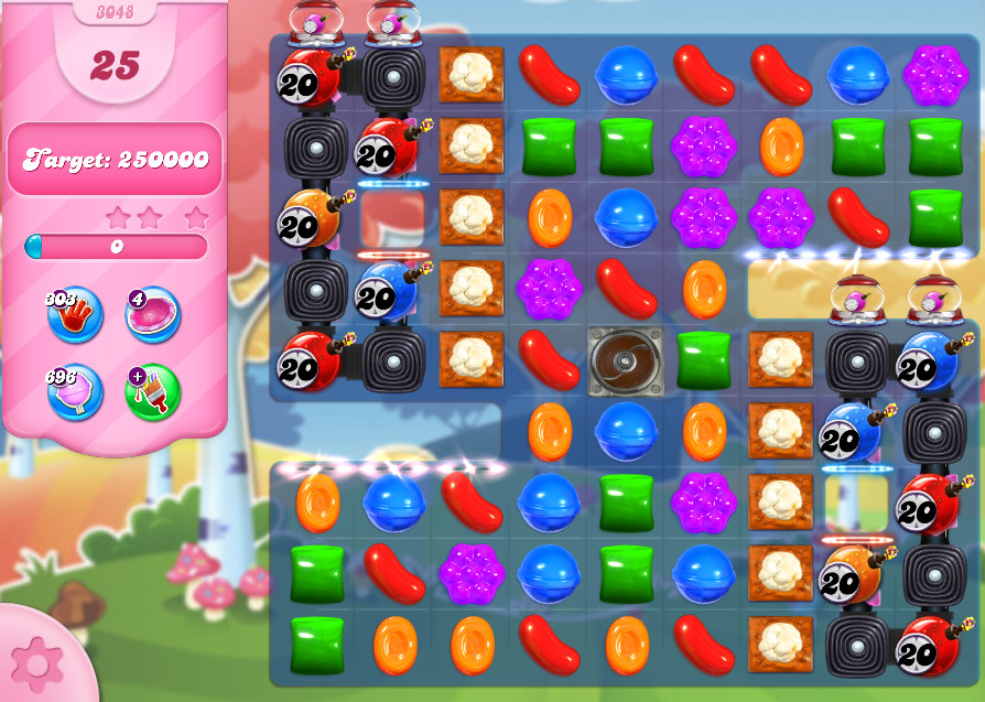 Candy Crush Saga level 3048