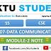 CS307 Data Communication Module-2 Note | S5 CSE