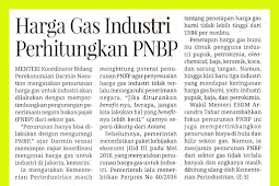 Industrial Gas Price Calculate PNBP
