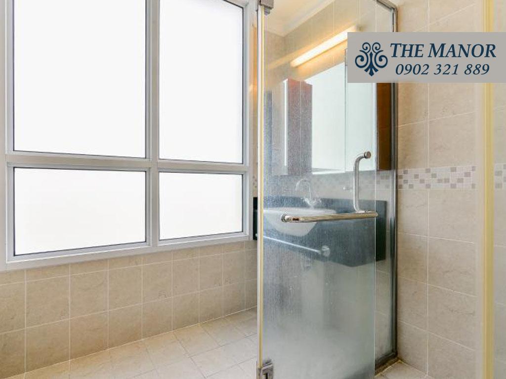 Bán căn hộ chung cư The Manor 1 Bình Thạnh 101m2 - phòng khách nhà trống