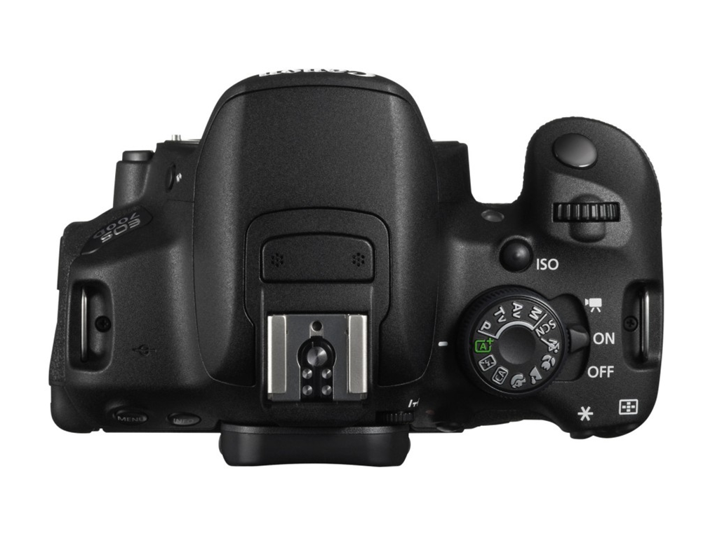 Canon EOS Rebel 700D / T5i Body Top View