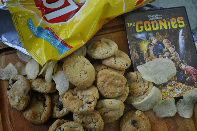 Chocolate Crunchies by The Friday Friends (inspired by The Goonies for Food 'n Flix)