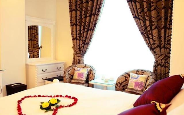 Phòng khách sạn Hồng Tâm khi đặt tại DATANLA.NET