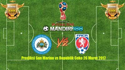 AGEN BOLA - Prediksi San Marino vs Republik Ceko 26 Maret 2017