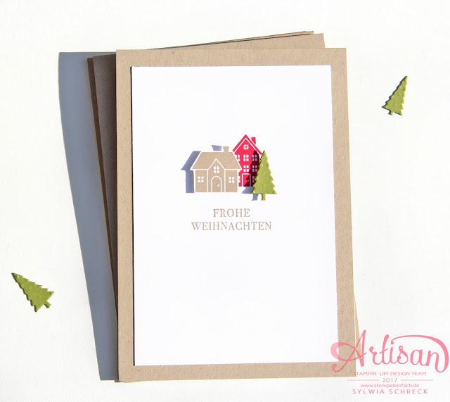 Weihnachten daheim - Stampin Up