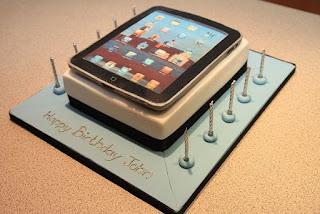 kue ulang tahun apple ipad