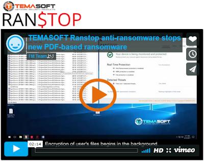 アンチランサムウェアRanstopによる新しいPDFベースのランサムウェアの停止