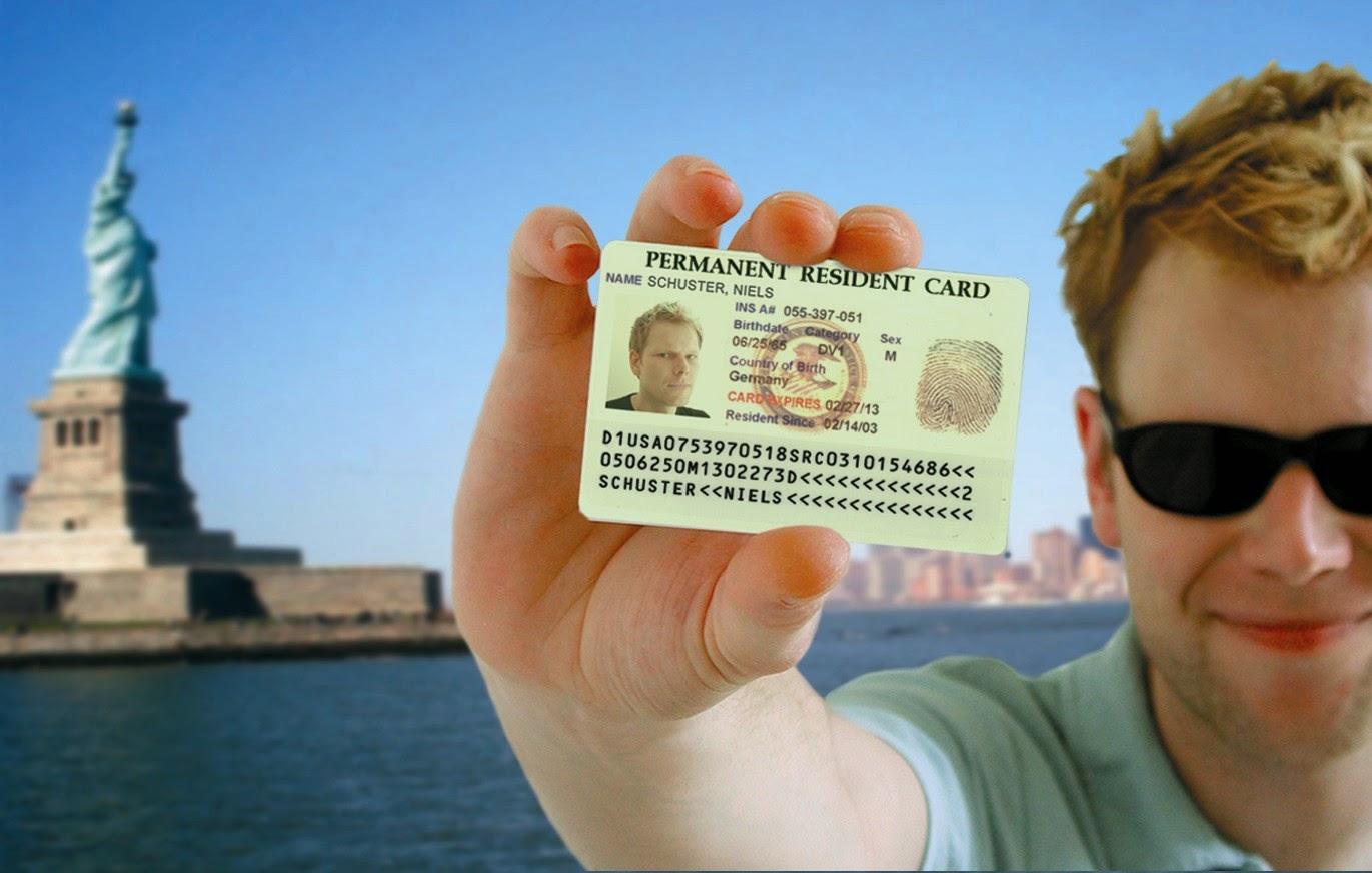 Green Card para morar nos EUA