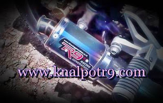 Harga Knalpot R9 New Mugello Buat Satria FU