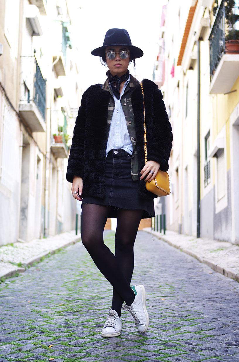 Elizabeth l Faux fur in Lisbon l Asos Storets F21 l blog mode fashion blogger l THEDEETSONE l http://thedeetsone.blogspot.fr