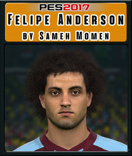 PES 2017 Faces Felipe Anderson by Sameh Momen