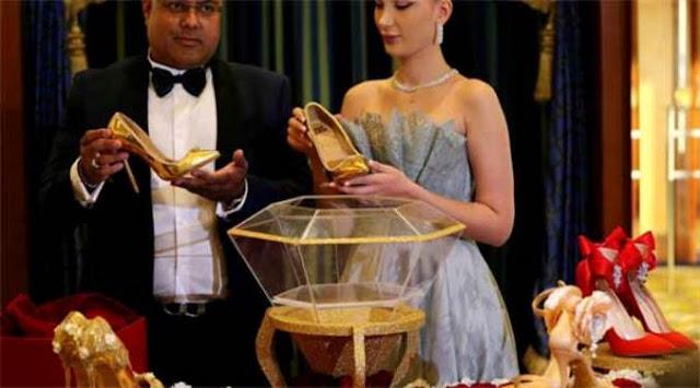 حذاء بـ 17 مليون دولار في دبي!!