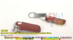 Souvenir Promosi Perusahaan Flashdisk Leather Case