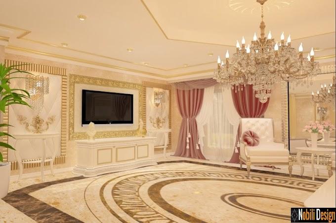 Design interior case clasice - Amenajare interioara casa de lux Bucuresti