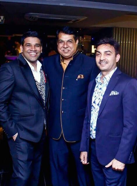 Vikram Solanki, Kishen Choudhary and Ajay Sharma