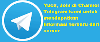 Channel Telegram Info Terbaru Server RajaReloadPulsaMurah.com