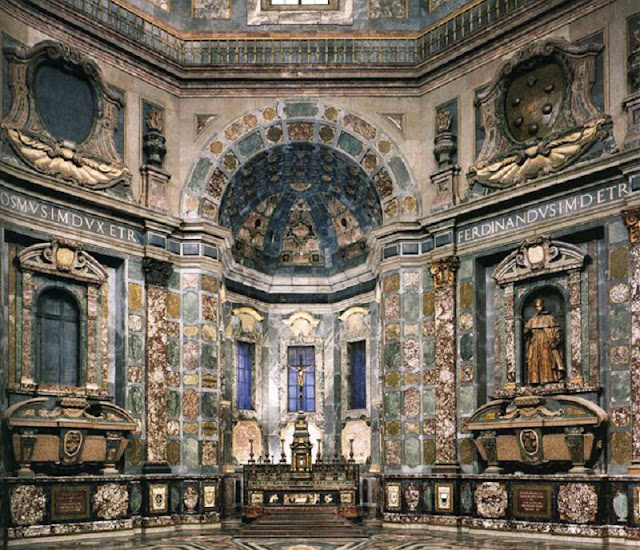 Interior da Capela de Medici