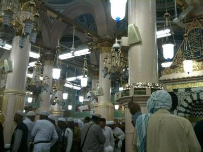 raudhah masjid nabawi cuti sekolah