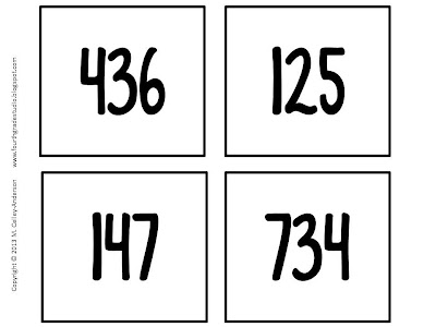 Problem solving doesn't always mean word problems--and this math challenge activity proves it! Perfect for math workshop, for fast finishers, for math enrichment. Third grade, fourth grade, fifth grade. Addition and subtraction and problem solving.