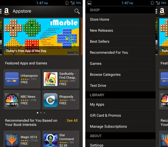 amazon android apps store